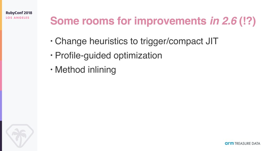 Some rooms for improvements in 2.6 (!?) • Chang...