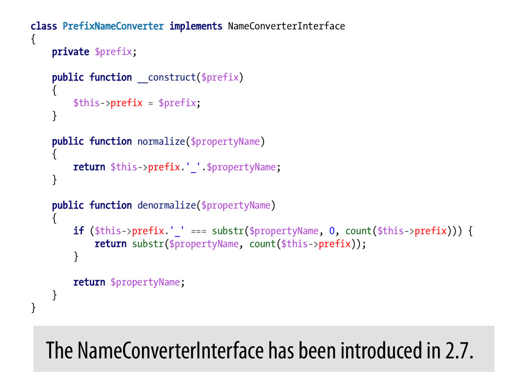 class PrefixNameConverter implements NameConver...