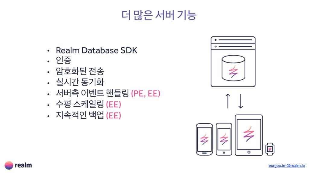 ؊ ݆ ࢲߡ ӝמ • Realm Database SDK • ੋૐ • ঐഐചػ ࣠ ...