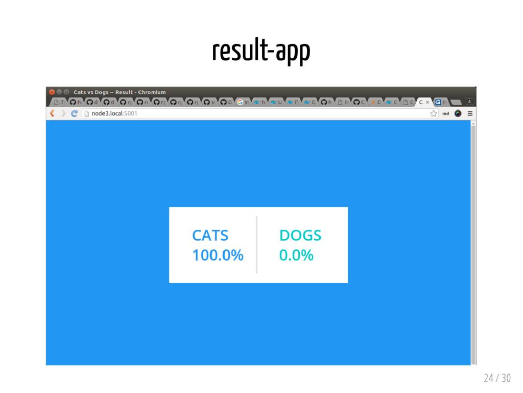 result-app 24 / 30