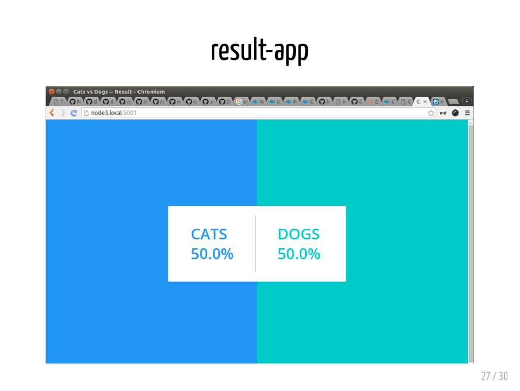 result-app 27 / 30