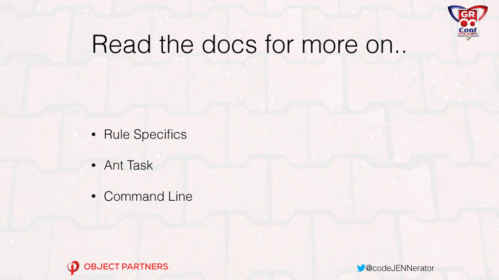 @codeJENNerator Read the docs for more on.. • R...
