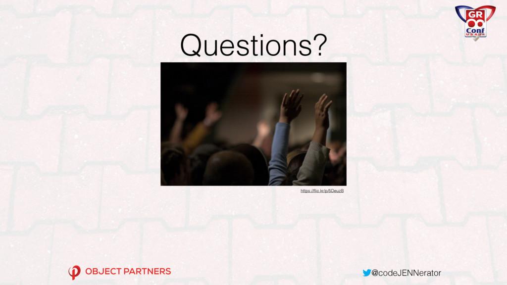 @codeJENNerator Questions? https://flic.kr/p/5De...