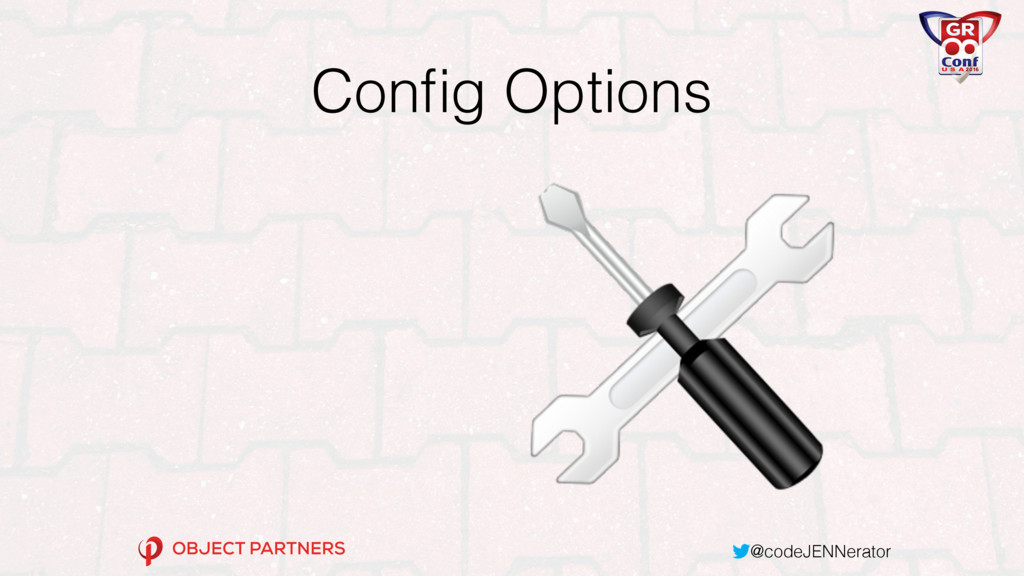 @codeJENNerator Config Options