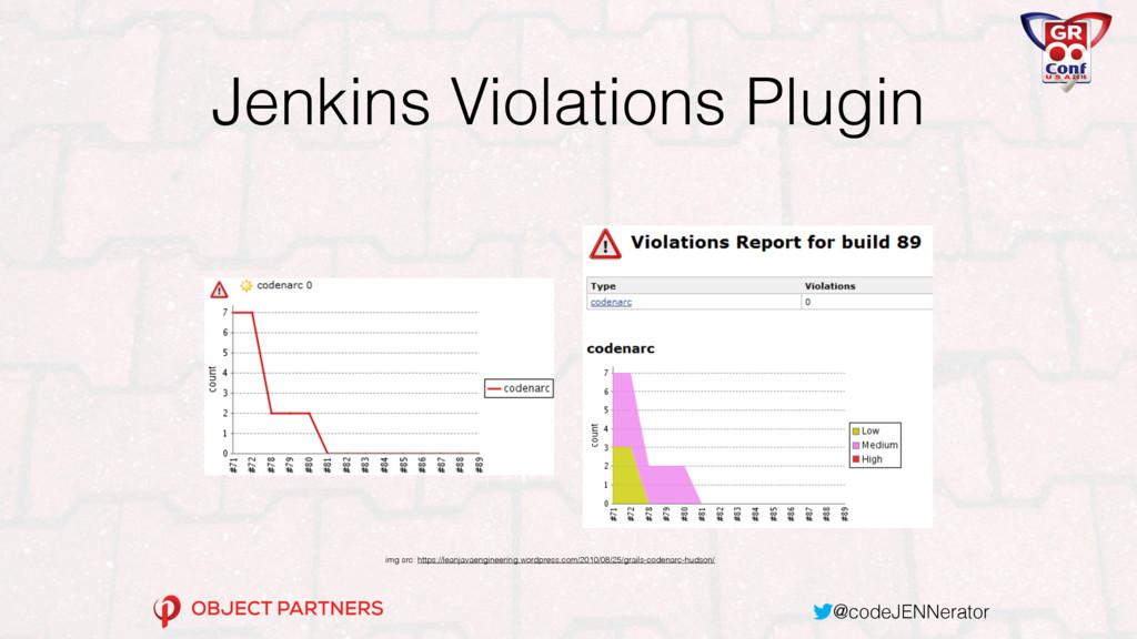 @codeJENNerator Jenkins Violations Plugin img s...