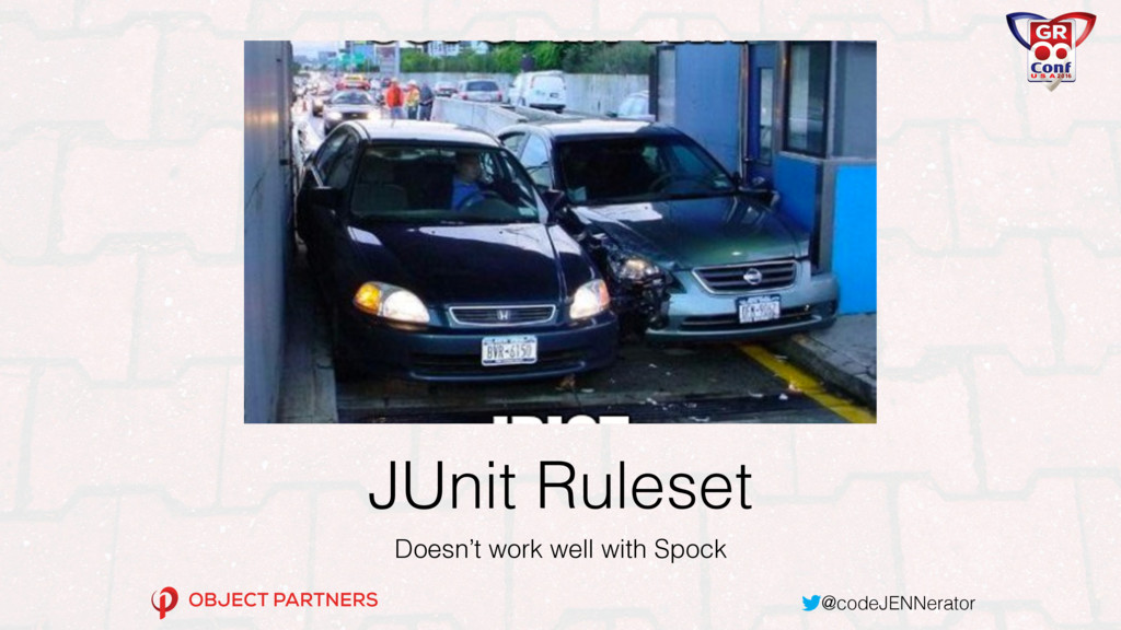 @codeJENNerator JUnit Ruleset Doesn't work well...