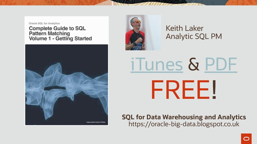 iTunes & PDF FREE! SQL for Data Warehousing and...