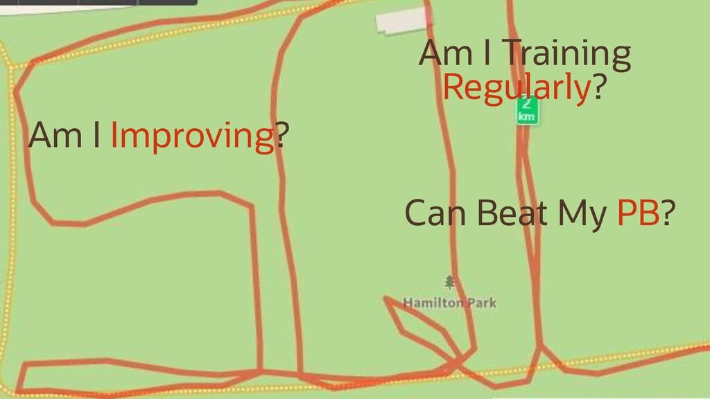 Am I Improving? Can Beat My PB? Am I Training R...