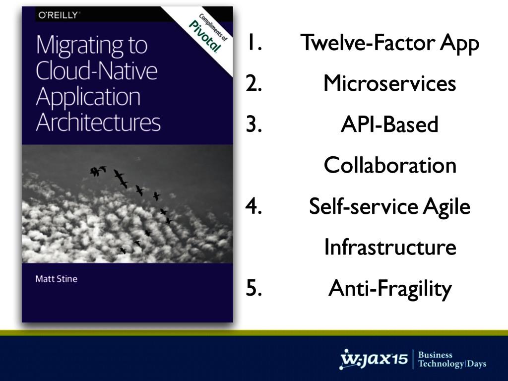 1. Twelve-Factor App 2. Microservices 3. API-Ba...