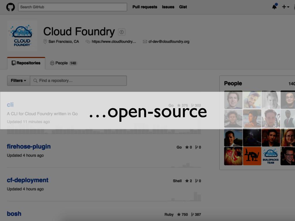 …open-source