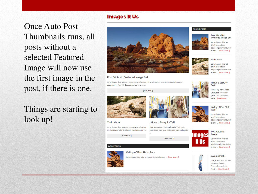 Once Auto Post Thumbnails runs, all posts witho...