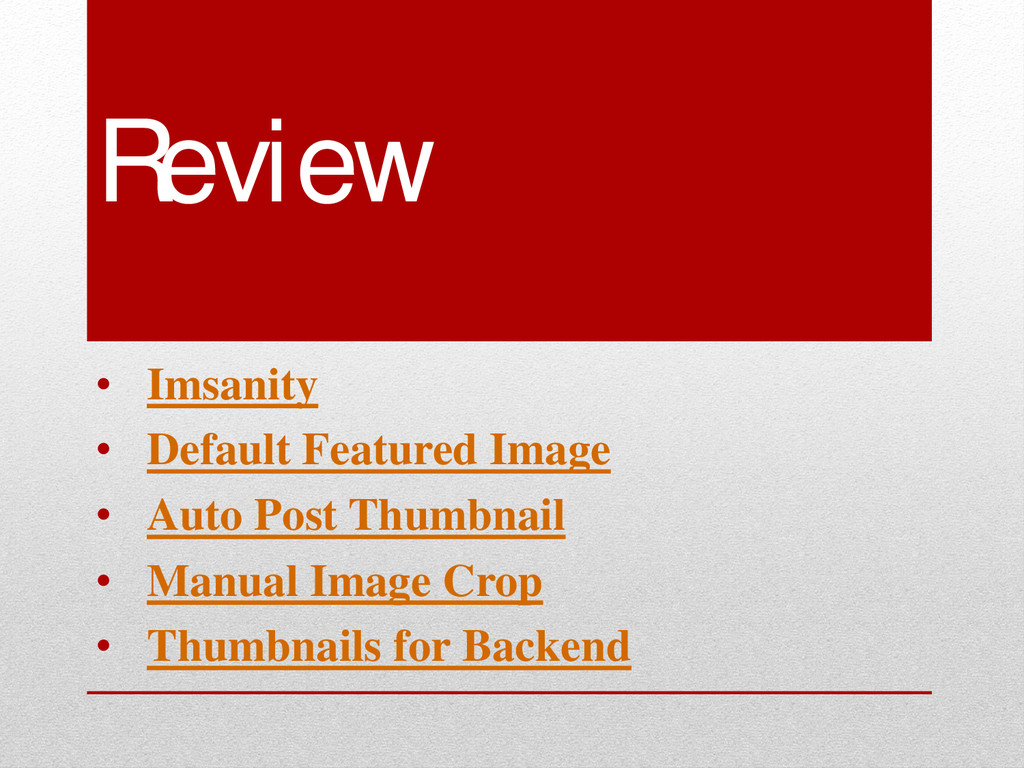 Review • Imsanity • Default Featured Image • Au...