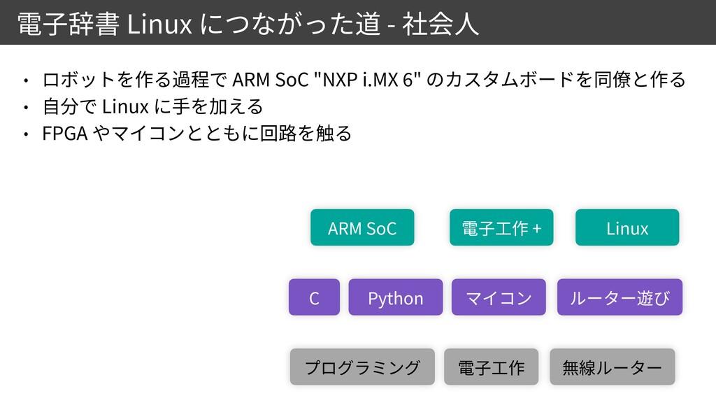 """Linux - ARM SoC """"NXP i.MX 6 """"   Linux   FPGA C ..."""
