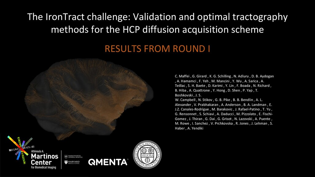 The IronTract challenge: Validation and optimal...