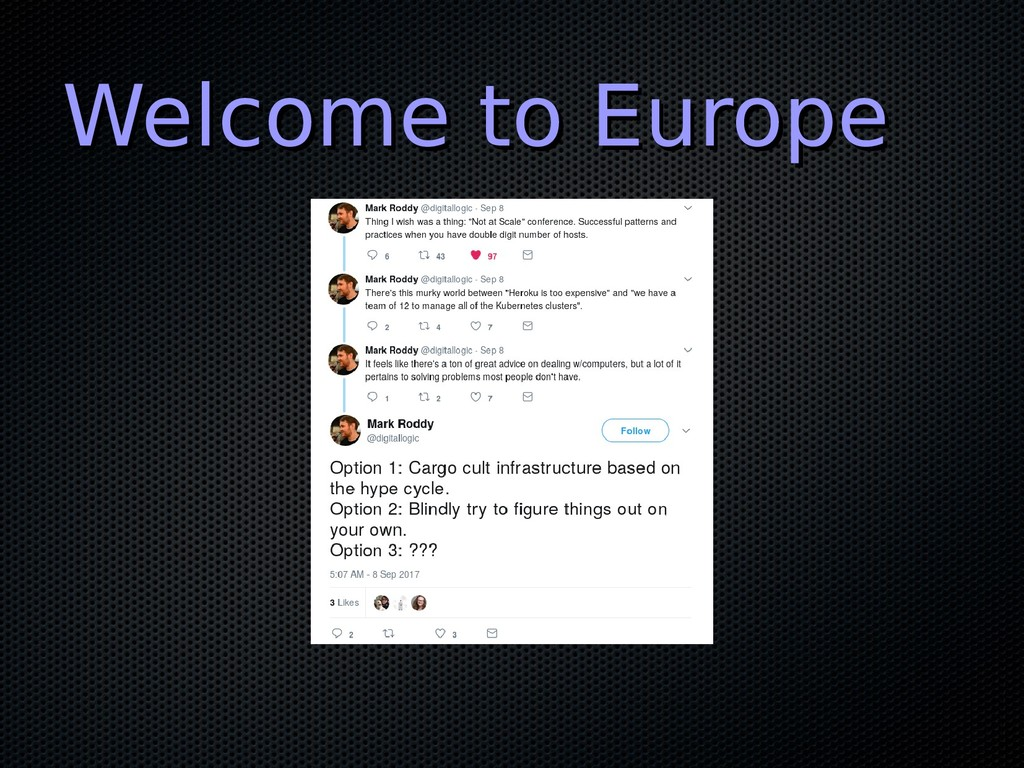 Welcome to Europe Welcome to Europe