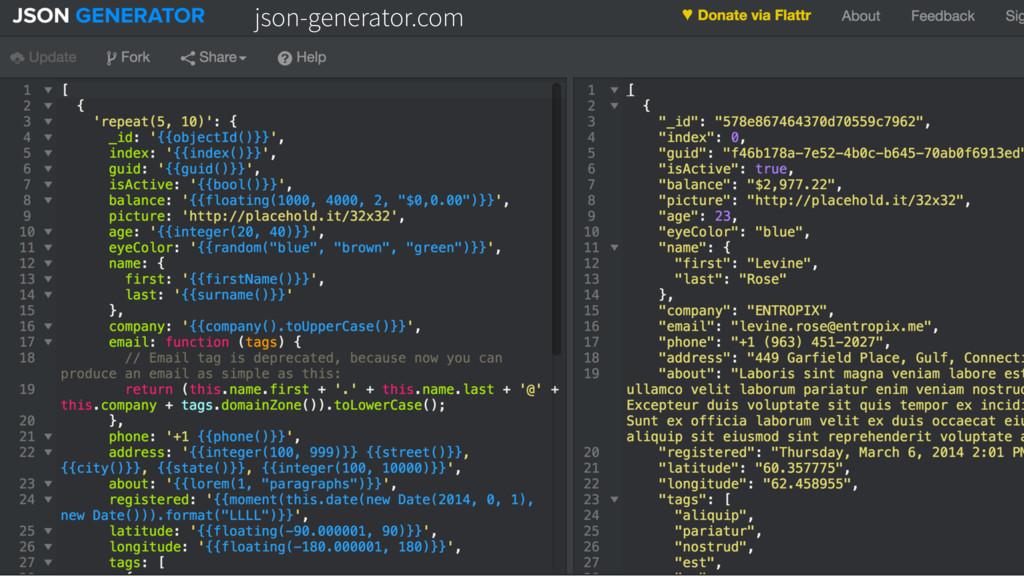 json-generator.com