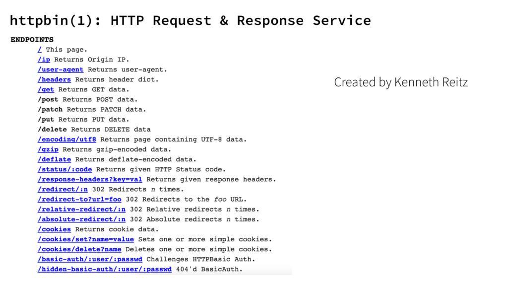 httpbin(1): HTTP Request & Response Service Cre...