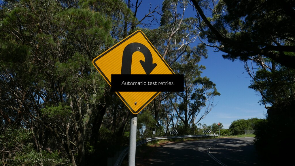 Automatic test retries Photo by Jim Wilson on U...