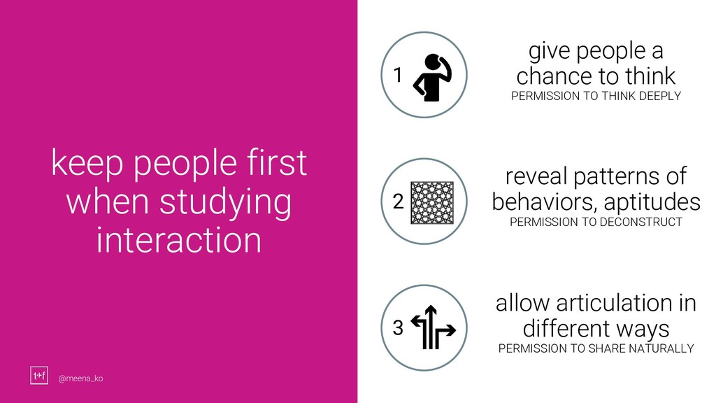 26 keep people first when studying interaction ...