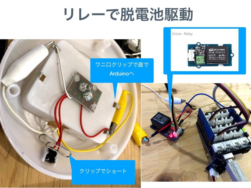 ϦϨʔͰిۦಈ ϫχޱΫϦοϓͰͰ Arduino ΫϦοϓͰγϣʔτ