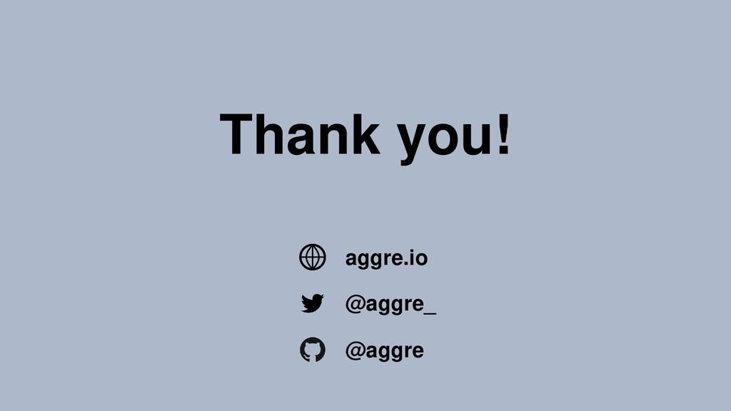 Thank you! @aggre_ @aggre aggre.io