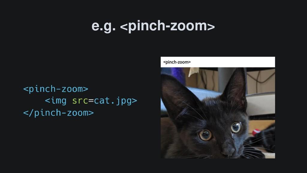 e.g. <pinch-zoom>