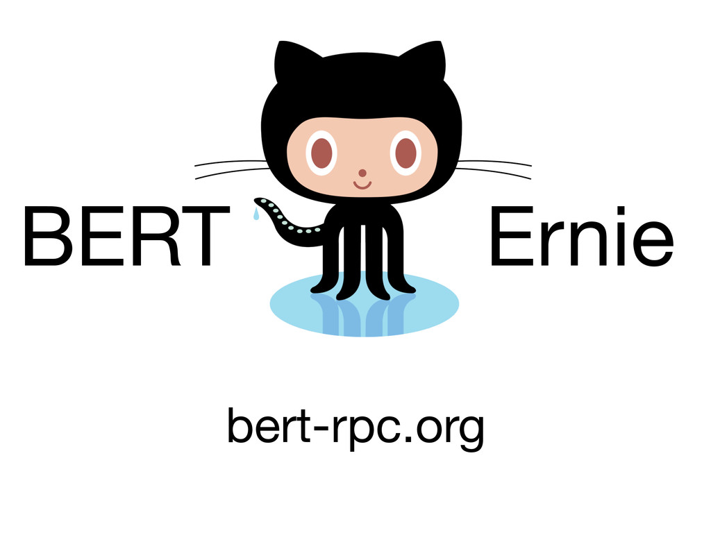 BERT Ernie bert-rpc.org