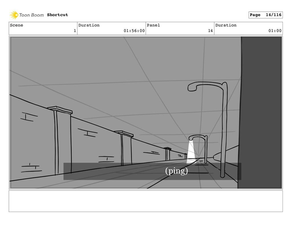 Scene 1 Duration 01:56:00 Panel 14 Duration 01:...