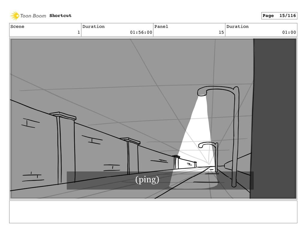 Scene 1 Duration 01:56:00 Panel 15 Duration 01:...