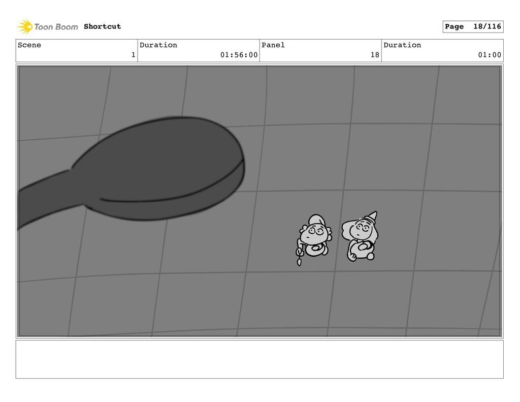 Scene 1 Duration 01:56:00 Panel 18 Duration 01:...