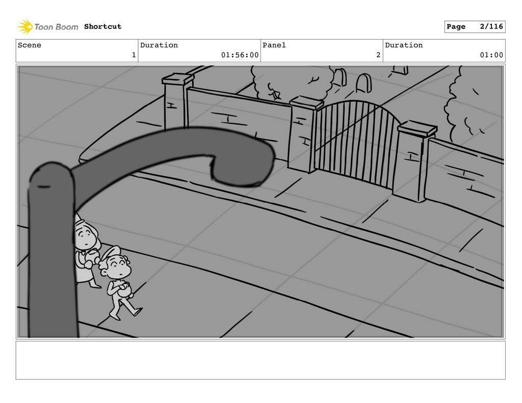 Scene 1 Duration 01:56:00 Panel 2 Duration 01:0...