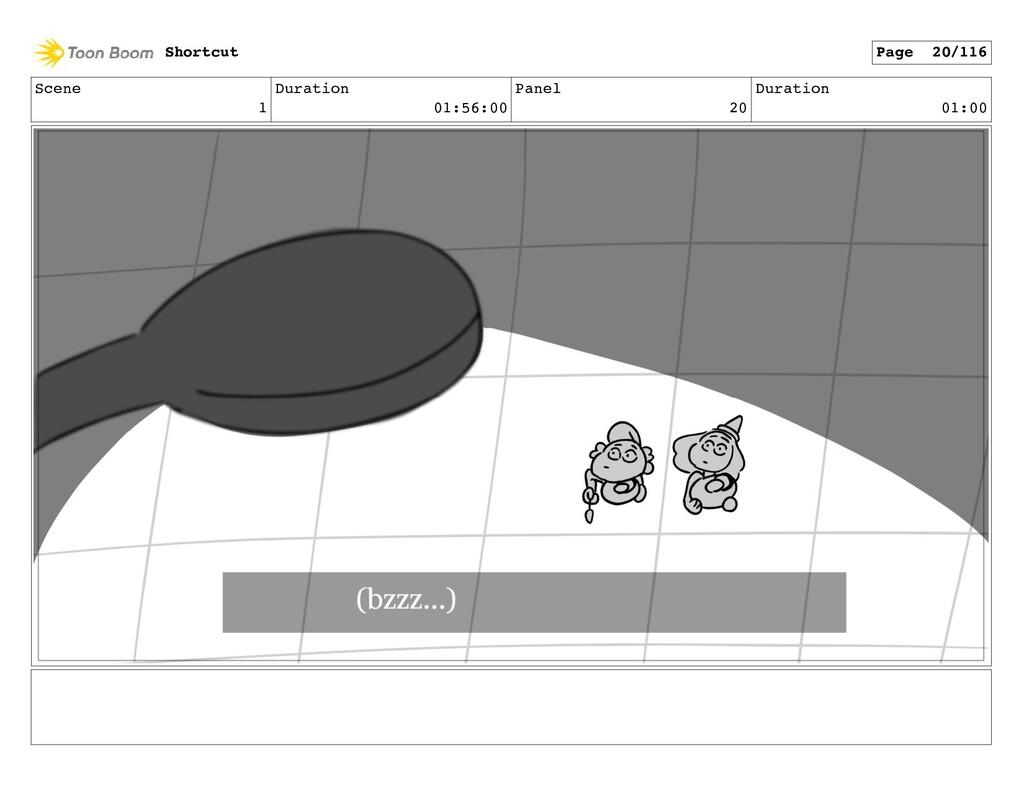 Scene 1 Duration 01:56:00 Panel 20 Duration 01:...