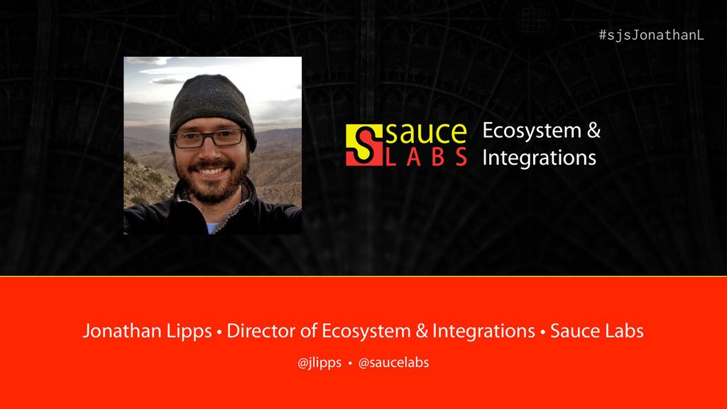 #sjsJonathanL Jonathan Lipps • Director of Ecos...