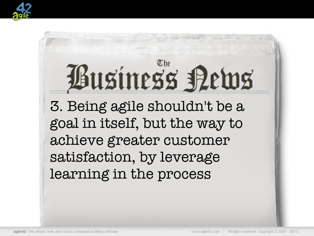 agile42 | the agile coaching company www.agile4...