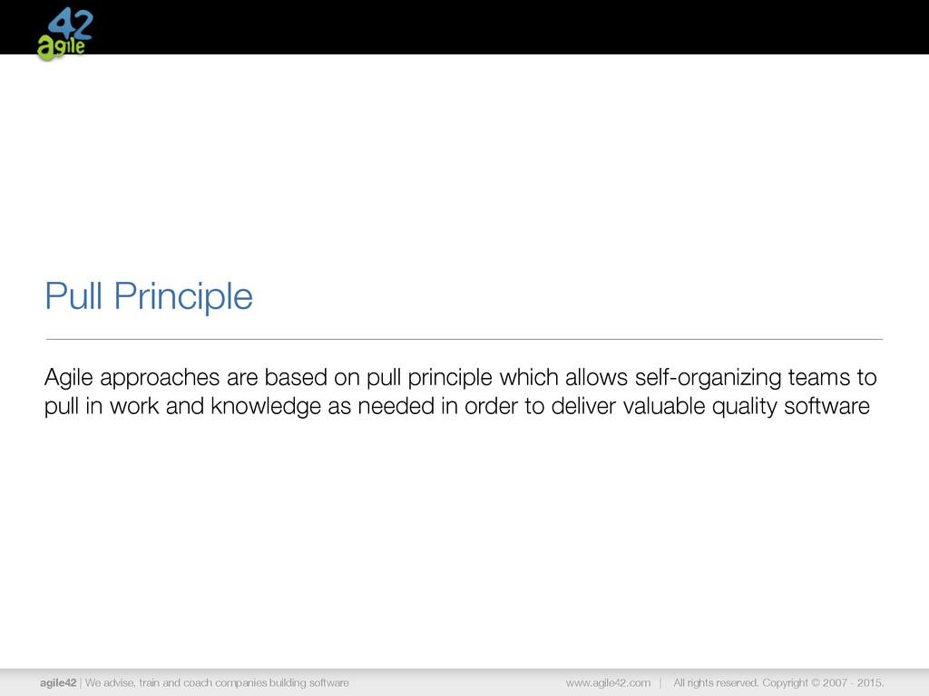 agile42   We advise, train and coach companies ...