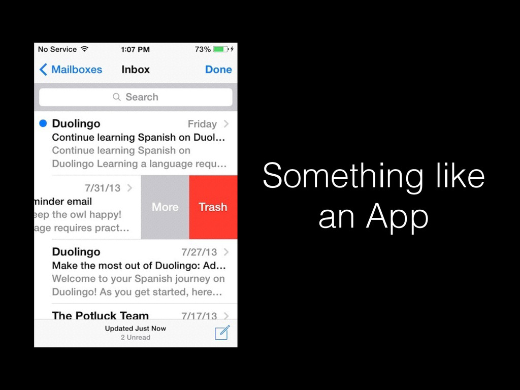 Something like an App