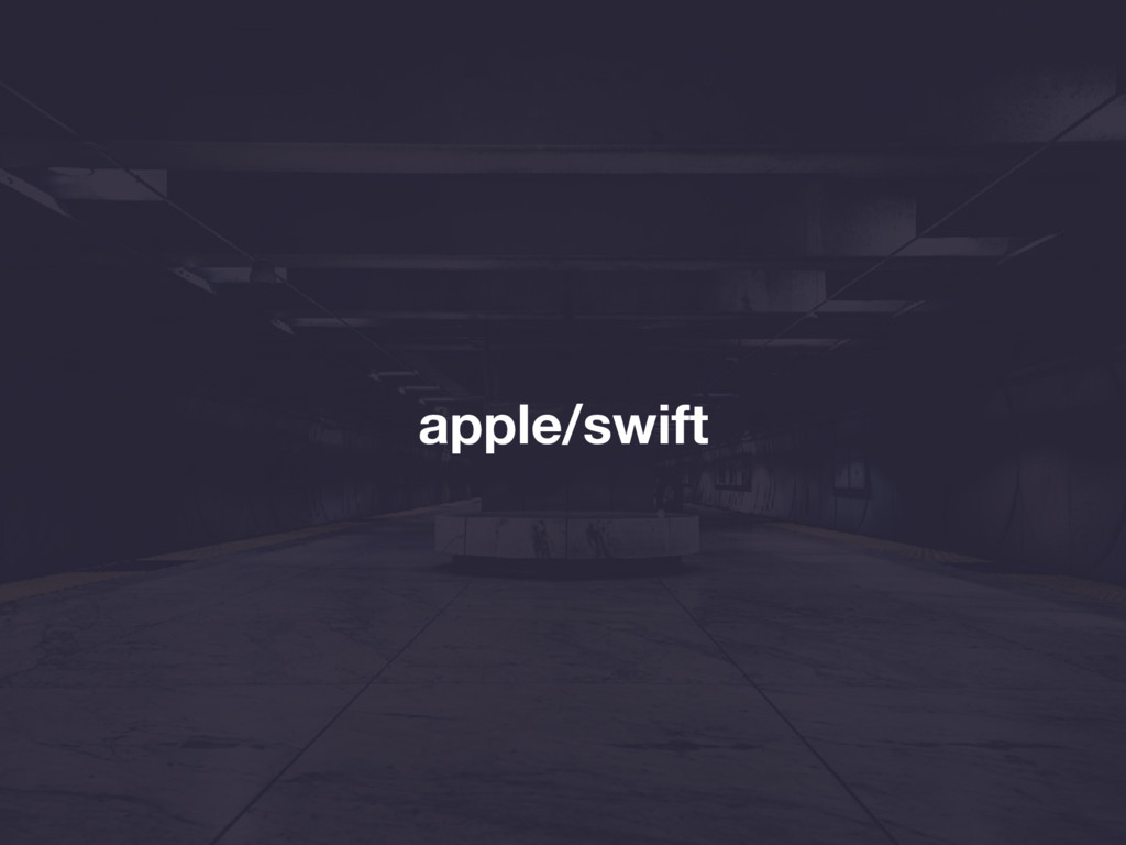 apple/swift