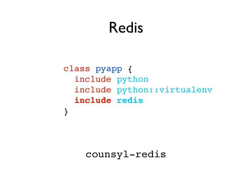 class pyapp {! include python! include python::...