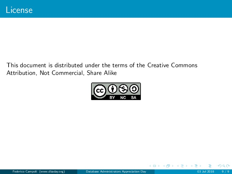 License This document is distributed under the ...