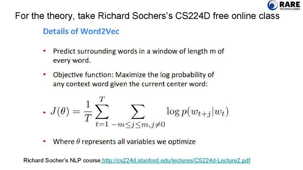 For the theory, take Richard Sochers's CS224D f...