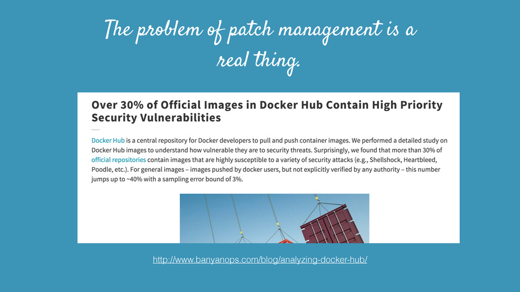 The problem of patch management is a real thing...