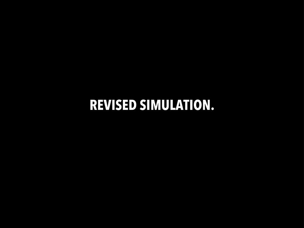 REVISED SIMULATION.