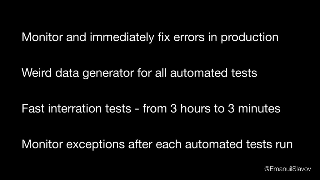 Weird data generator for all automated tests Mo...