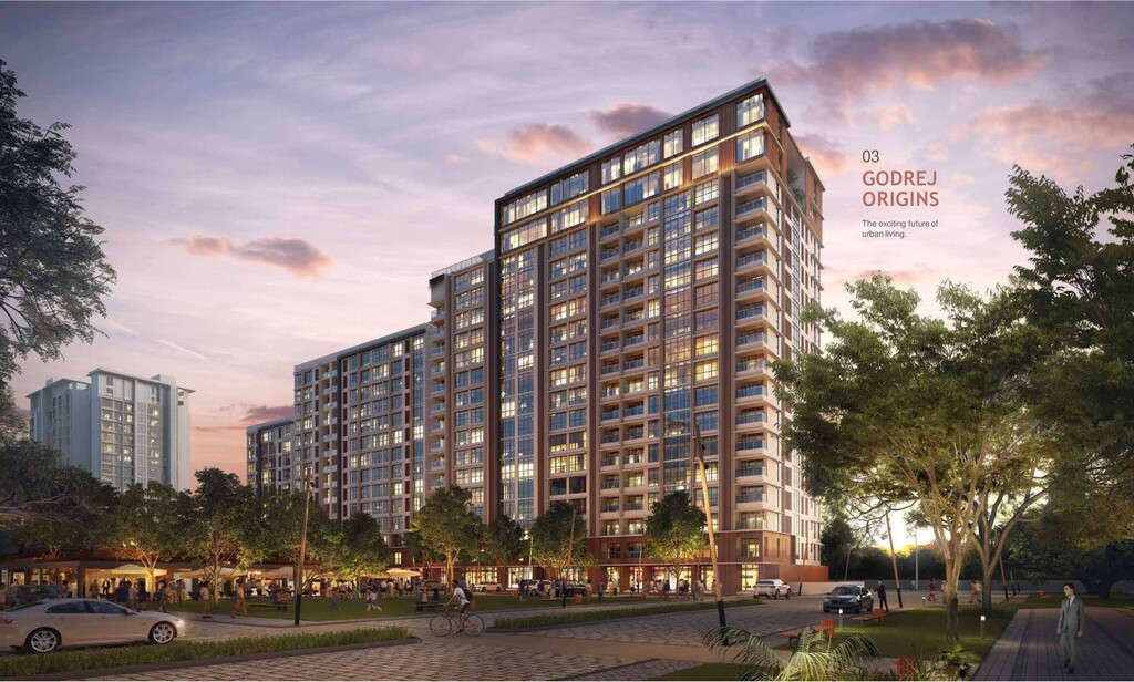 The exciting futureof urban living. GODREJ ORIG...