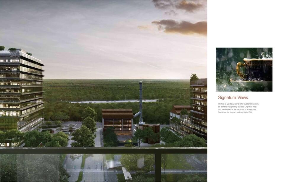 58 Signature Views Homes at Godrej Origins offe...