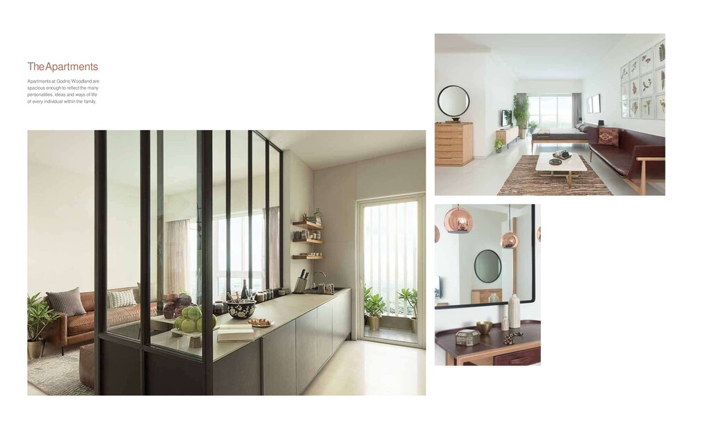 TheApartments Apartments at Godrej Woodland are...