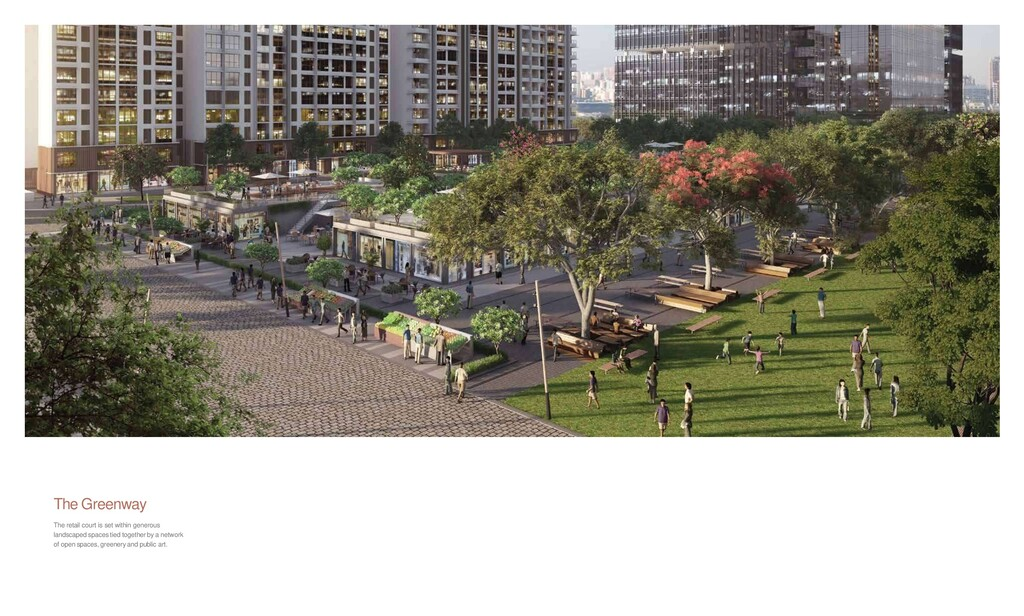 The Greenway The retail court is set within gen...