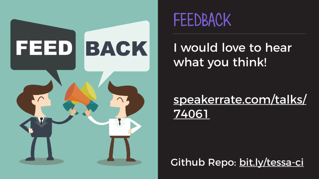 FEEDBACK I would love to hear what you think! s...