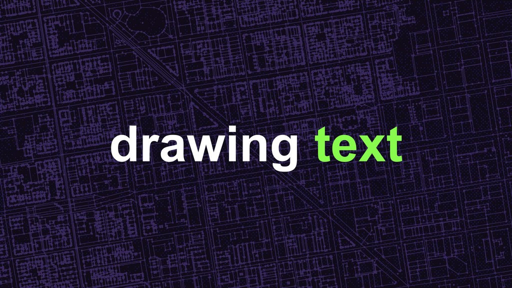 drawing text