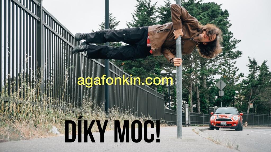 Díky moc! agafonkin.com